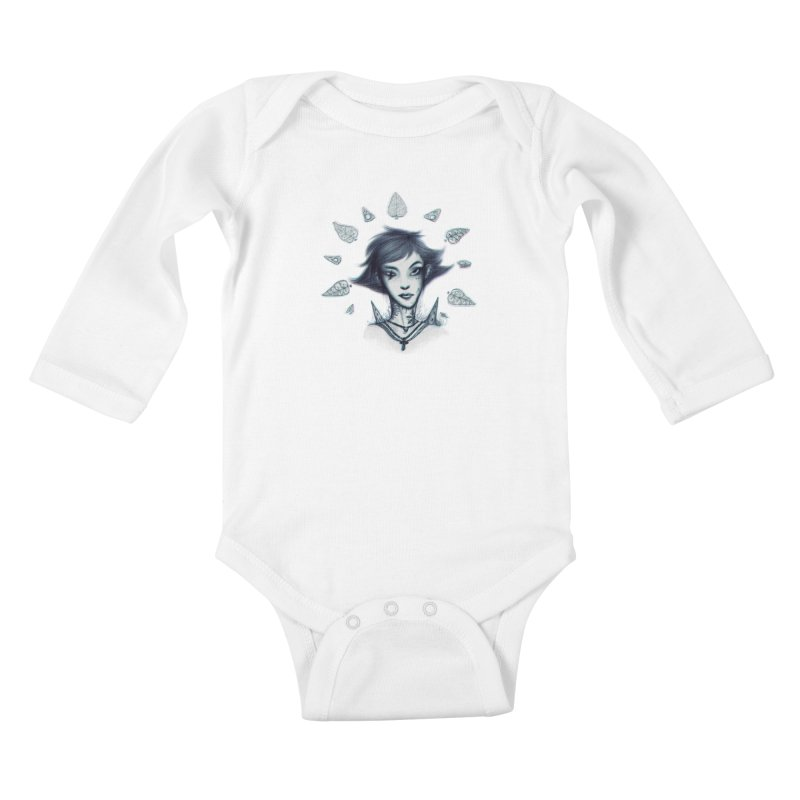 NatureWoman! Kids Baby Longsleeve Bodysuit by creativosindueno's Artist Shop