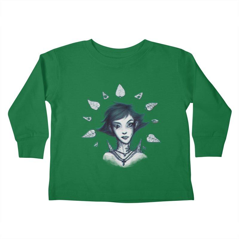 NatureWoman! Kids Toddler Longsleeve T-Shirt by creativosindueno's Artist Shop