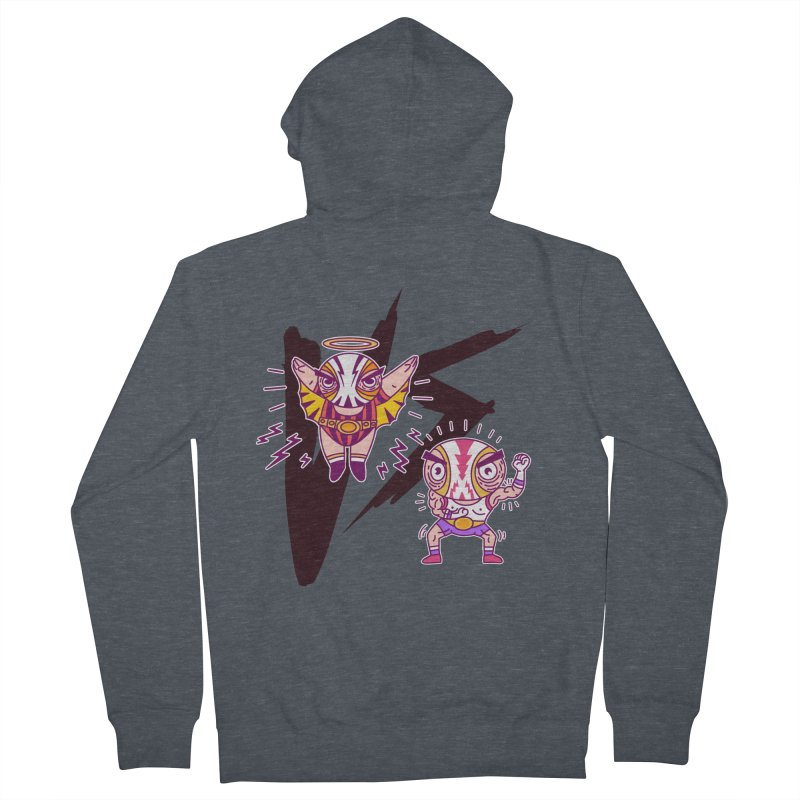 Figthers Women's Zip-Up Hoody by creativosindueno's Artist Shop