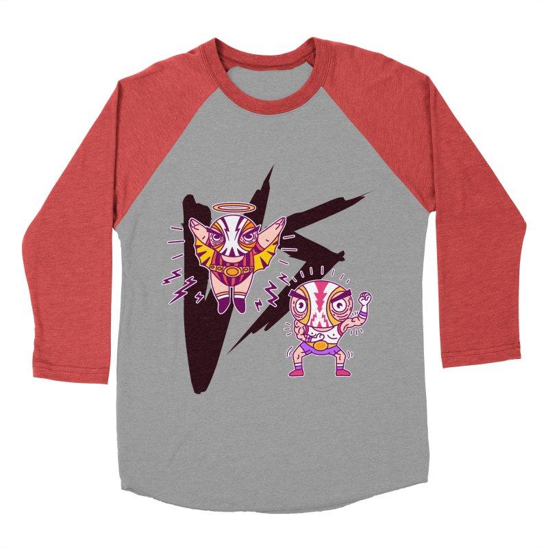 Figthers Women's Baseball Triblend T-Shirt by creativosindueno's Artist Shop