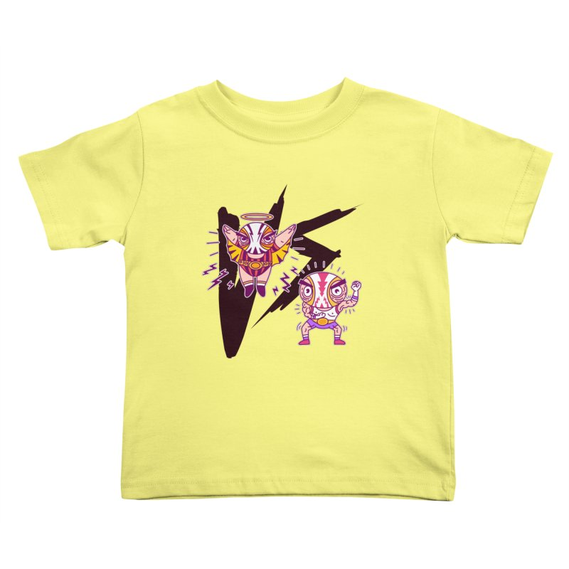 Figthers Kids Toddler T-Shirt by creativosindueno's Artist Shop
