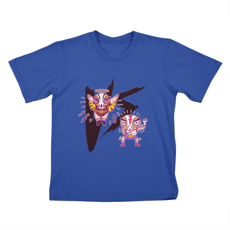 Figthers Kids T-Shirt by creativosindueno's Artist Shop