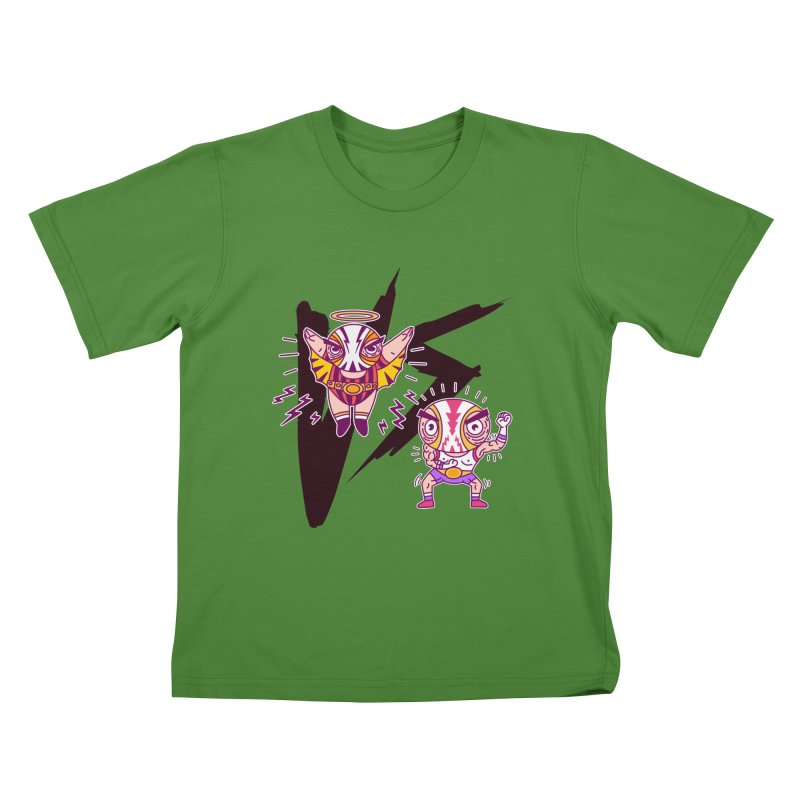 Figthers Kids T-shirt by creativosindueno's Artist Shop