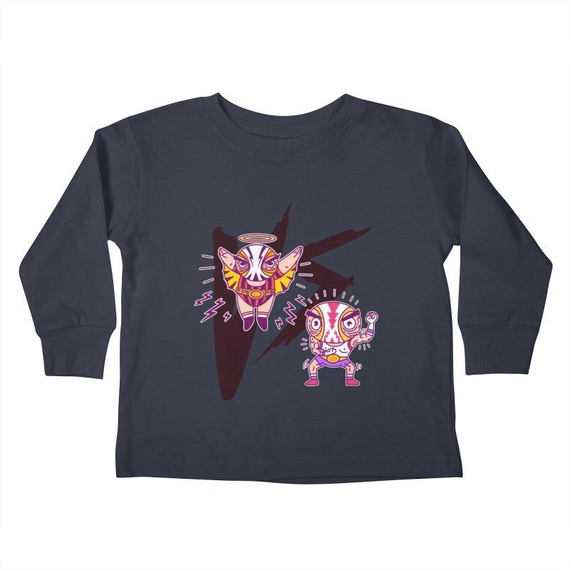 Figthers Kids Toddler Longsleeve T-Shirt by creativosindueno's Artist Shop