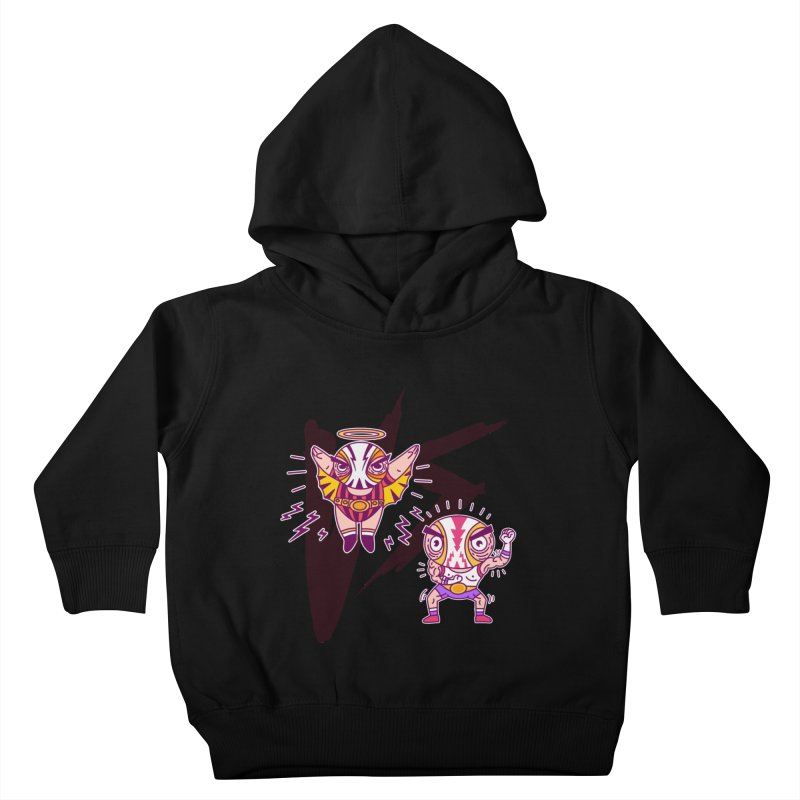 Figthers Kids Toddler Pullover Hoody by creativosindueno's Artist Shop