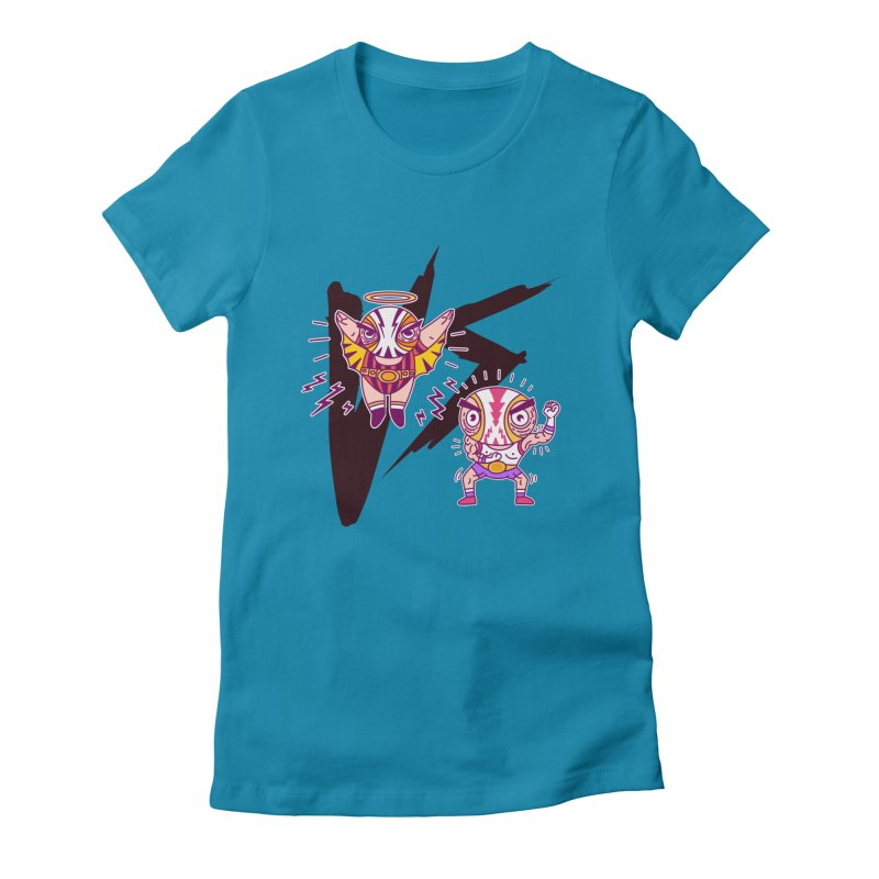 Figthers Women's Fitted T-Shirt by creativosindueno's Artist Shop