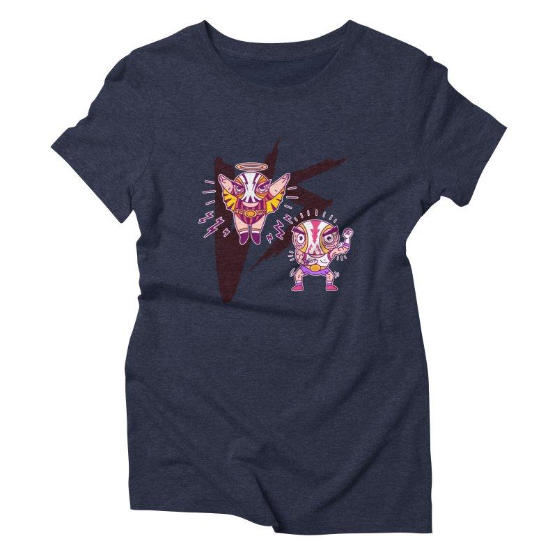 Figthers Women's Triblend T-shirt by creativosindueno's Artist Shop
