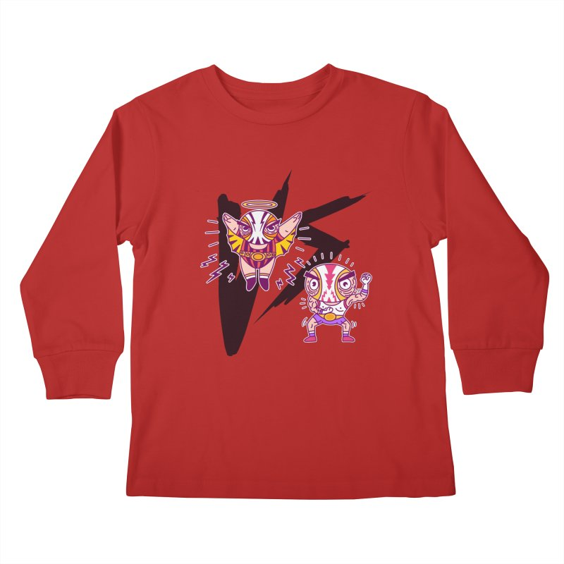 Figthers Kids Longsleeve T-Shirt by creativosindueno's Artist Shop