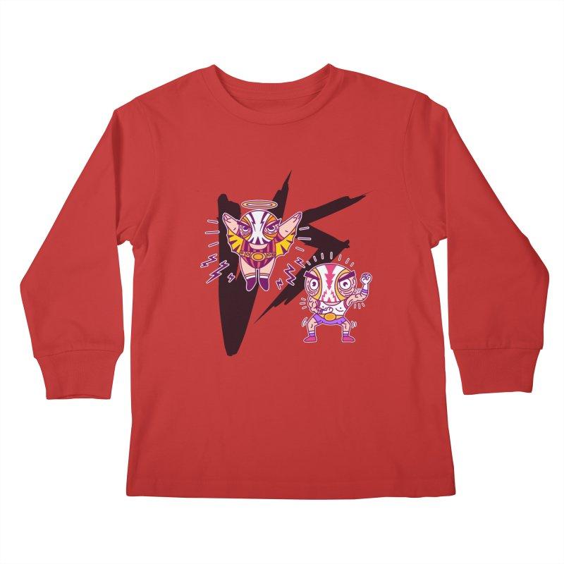 Figthers Kids Longsleeve T-Shirt by creativosindueno's Artist Shop