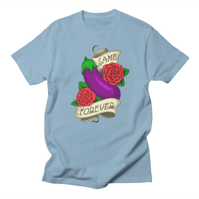 Aubergine Men's Regular T-Shirt by Creaturista's Fine Goods