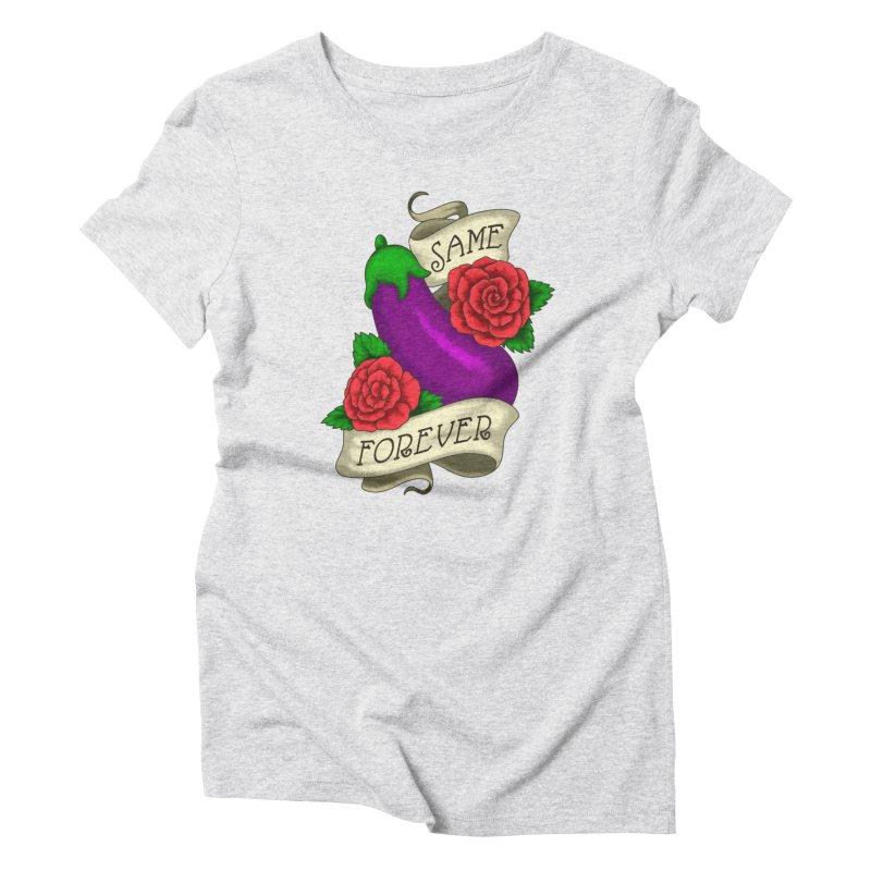 Aubergine Women's T-Shirt by Creaturista's Fine Goods