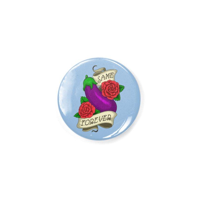 Aubergine Accessories Button by Creaturista's Fine Goods