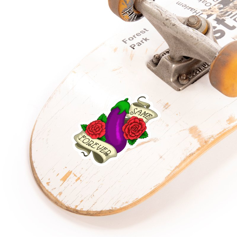 Aubergine Accessories Sticker by Creaturista's Fine Goods