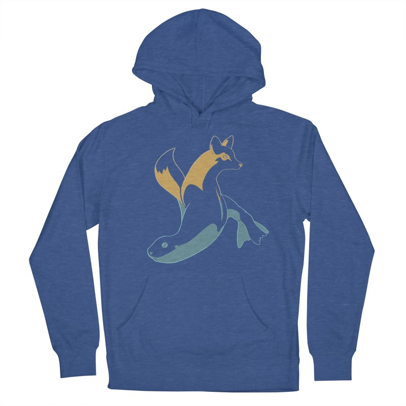 Best of Both Worlds Men's French Terry Pullover Hoody by Creaturista's Fine Goods