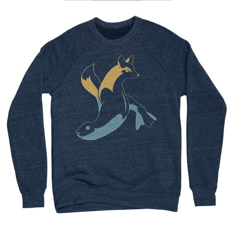 Best of Both Worlds Men's Sponge Fleece Sweatshirt by Creaturista's Fine Goods