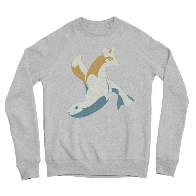 Best of Both Worlds HC Men's Sponge Fleece Sweatshirt by Creaturista's Fine Goods