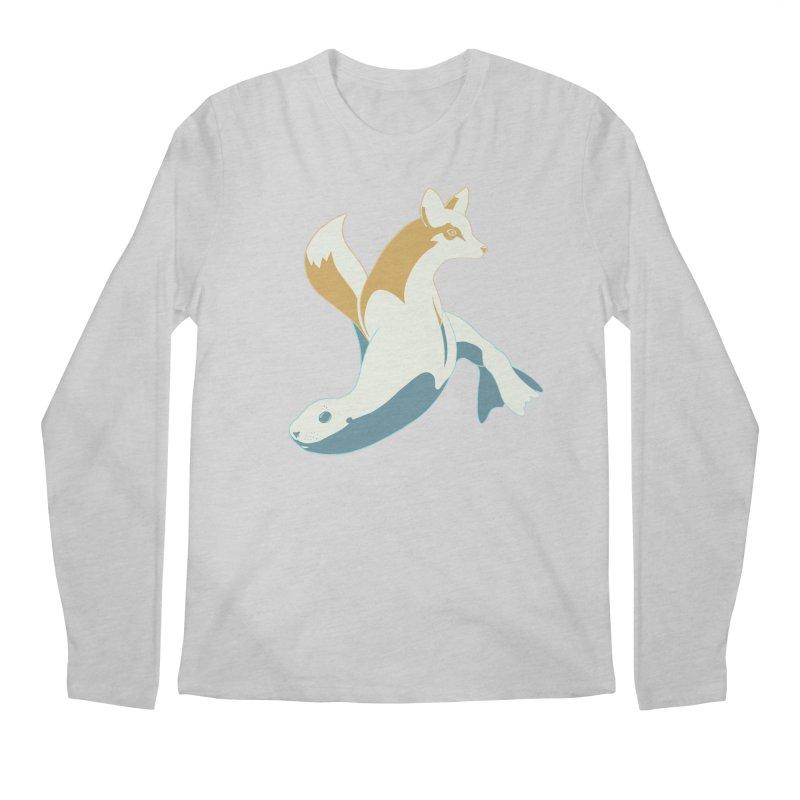 Best of Both Worlds HC Men's Regular Longsleeve T-Shirt by Creaturista's Fine Goods