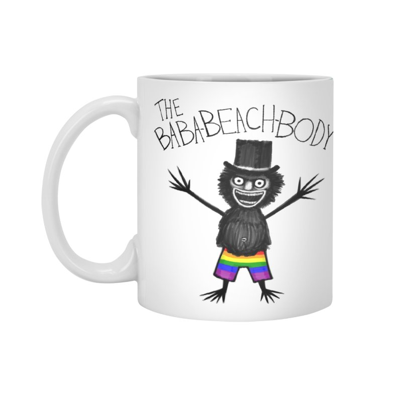 The Baba-Beach-Body Accessories Mug by Creaturista's Fine Goods