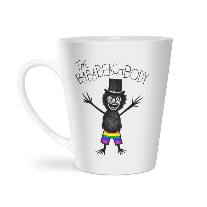 The Baba-Beach-Body Accessories Latte Mug by Creaturista's Fine Goods