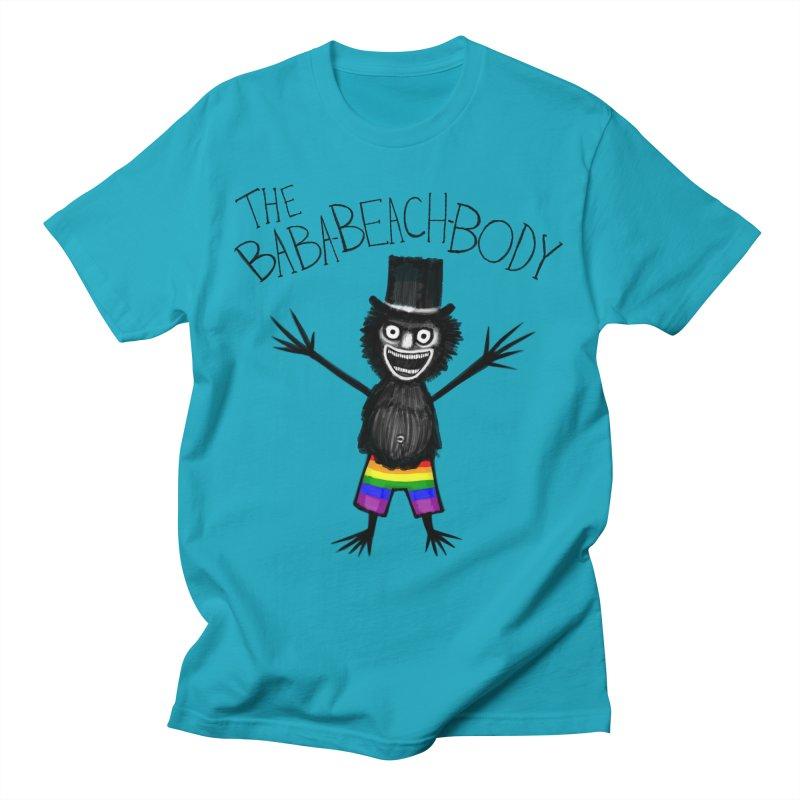 The Baba-Beach-Body Men's T-Shirt by Creaturista's Fine Goods