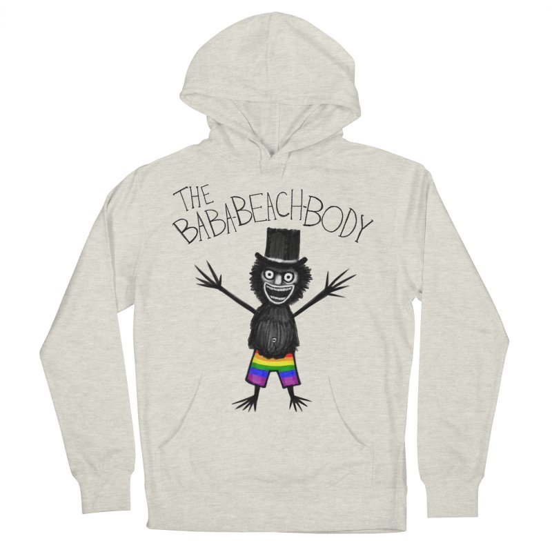 The Baba-Beach-Body Women's French Terry Pullover Hoody by Creaturista's Fine Goods