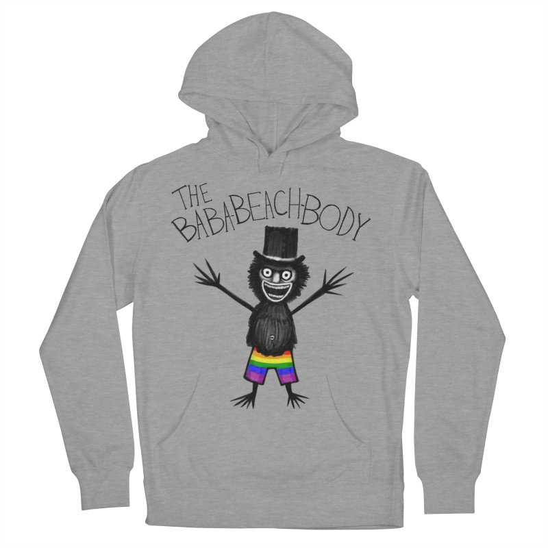 The Baba-Beach-Body Men's French Terry Pullover Hoody by Creaturista's Fine Goods