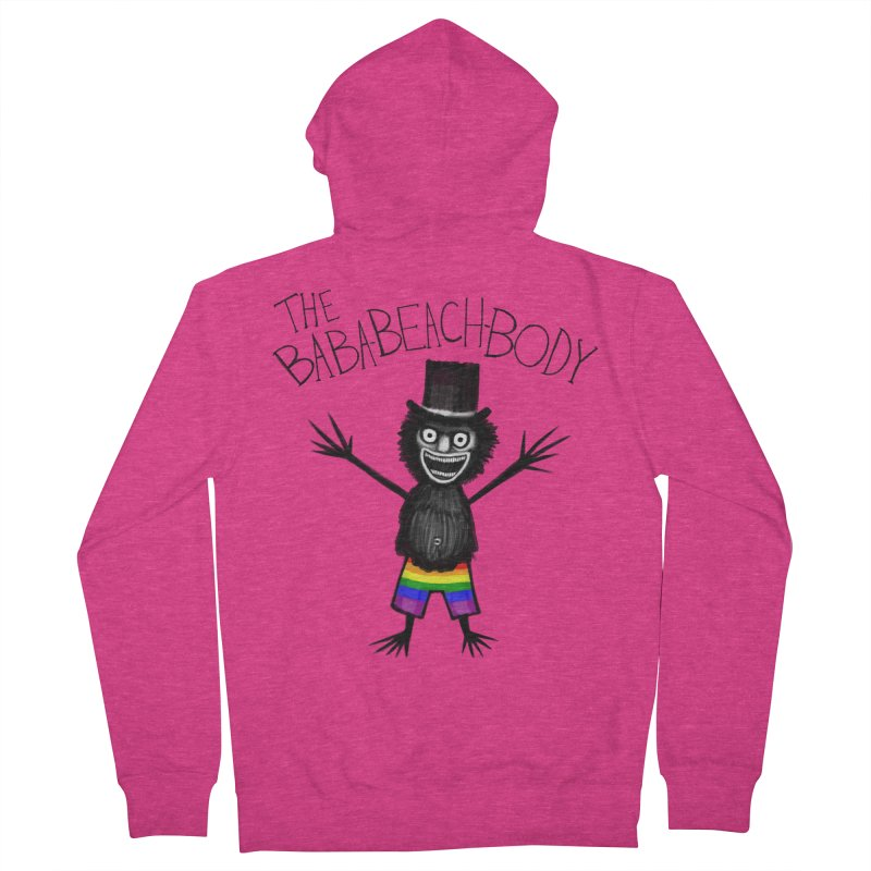 The Baba-Beach-Body Women's French Terry Zip-Up Hoody by Creaturista's Fine Goods