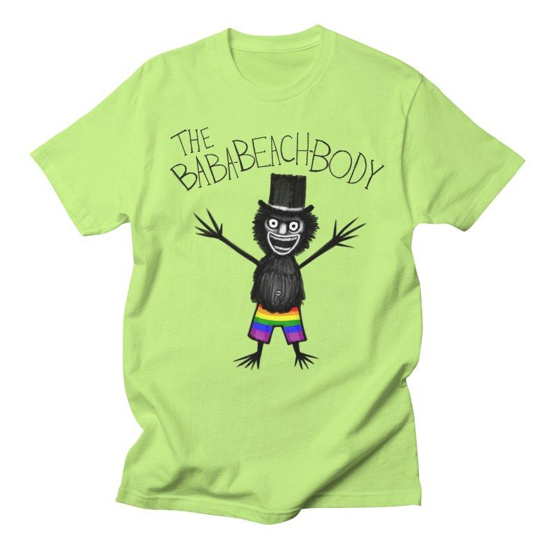 The Baba-Beach-Body Women's Regular Unisex T-Shirt by Creaturista's Fine Goods