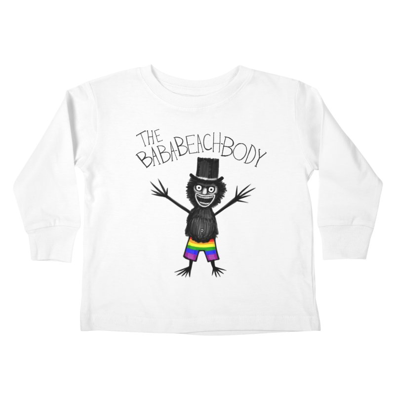 The Baba-Beach-Body Kids Toddler Longsleeve T-Shirt by Creaturista's Fine Goods