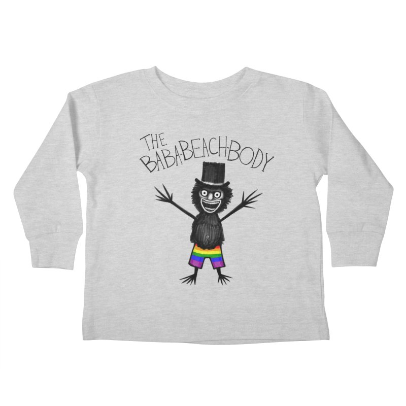 The Baba-Beach-Body Kids Toddler Longsleeve T-Shirt by Creaturista's Fine Goods