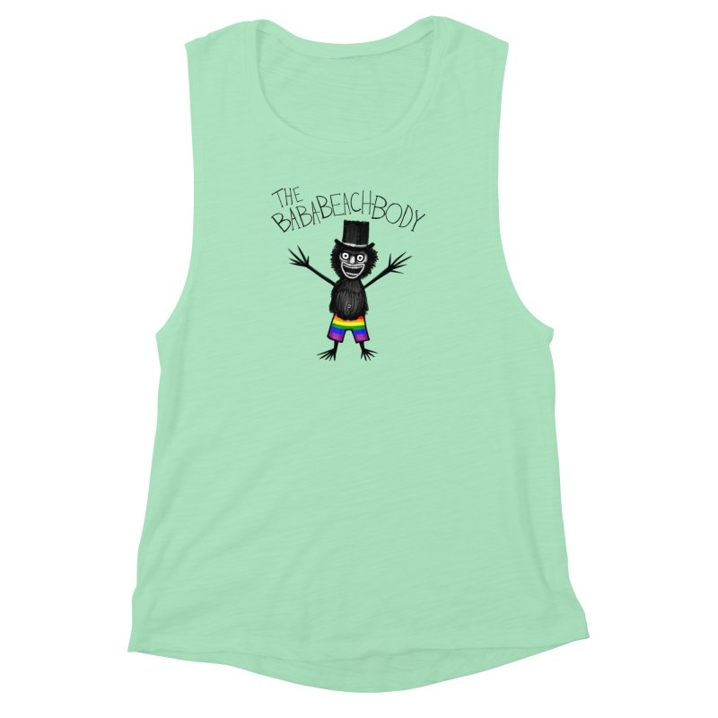 The Baba-Beach-Body Women's Muscle Tank by Creaturista's Fine Goods