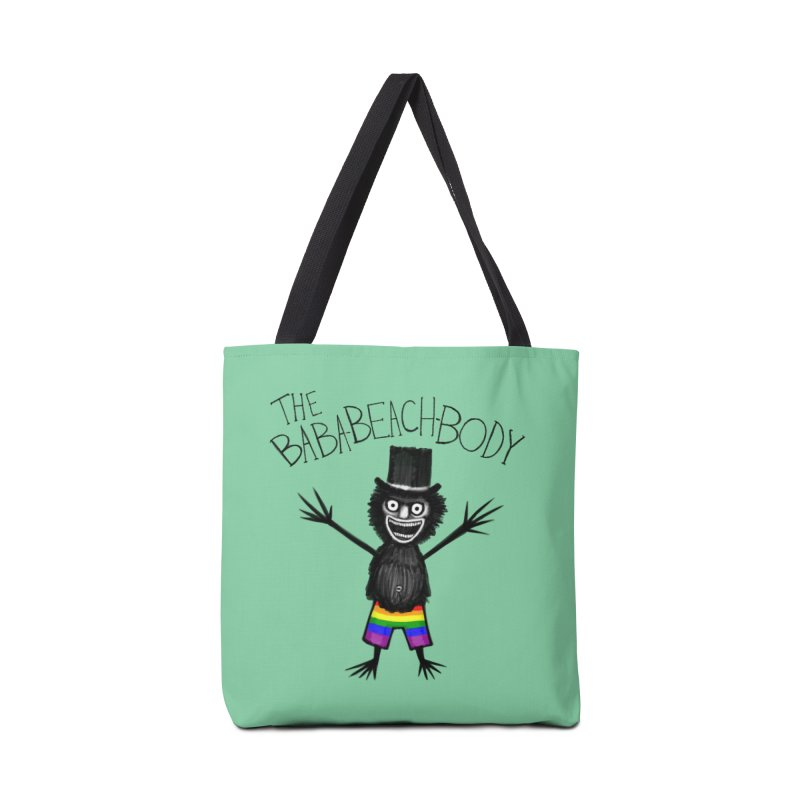 The Baba-Beach-Body Accessories Tote Bag Bag by Creaturista's Fine Goods