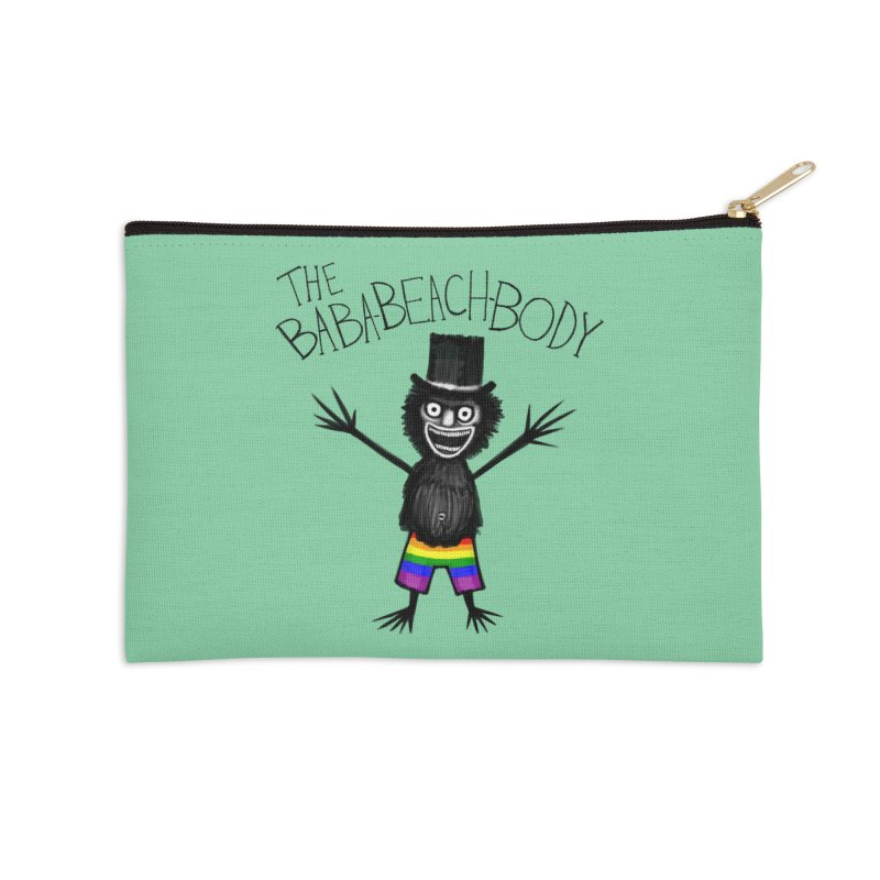 The Baba-Beach-Body Accessories Zip Pouch by Creaturista's Fine Goods