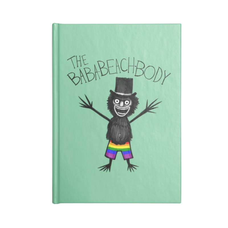 The Baba-Beach-Body Accessories Blank Journal Notebook by Creaturista's Fine Goods