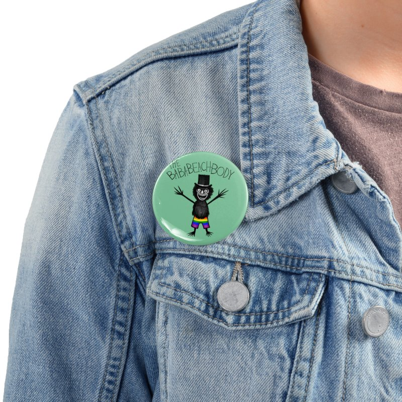 The Baba-Beach-Body Accessories Button by Creaturista's Fine Goods