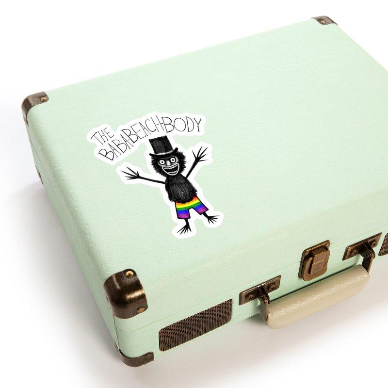 The Baba-Beach-Body Accessories Sticker by Creaturista's Fine Goods