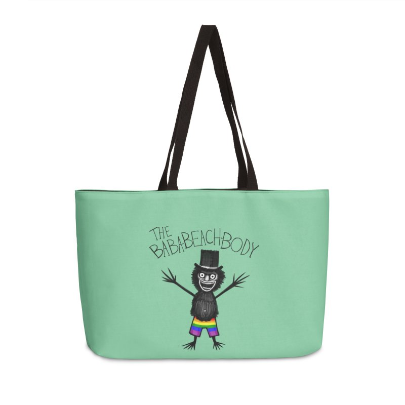 The Baba-Beach-Body Accessories Weekender Bag Bag by Creaturista's Fine Goods