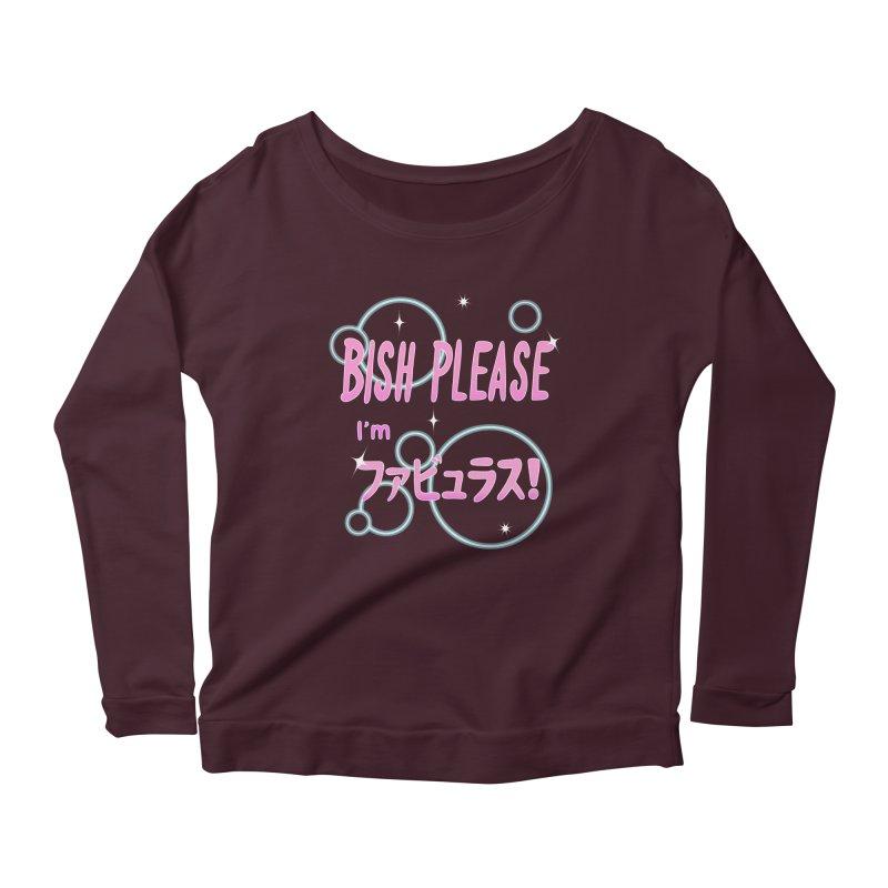 Fabulous! Women's Scoop Neck Longsleeve T-Shirt by Creaturista's Fine Goods