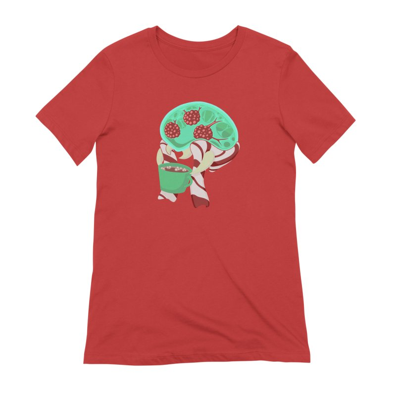 Feeling Festive Women's Extra Soft T-Shirt by Creaturista's Fine Goods
