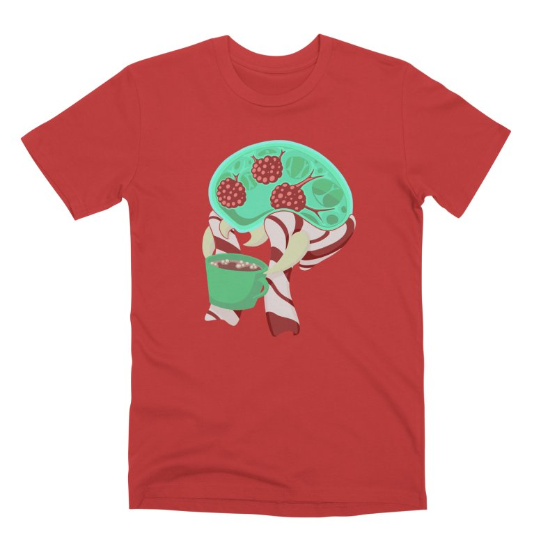 Feeling Festive Men's Premium T-Shirt by Creaturista's Fine Goods
