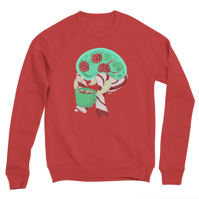 Feeling Festive Men's Sponge Fleece Sweatshirt by Creaturista's Fine Goods