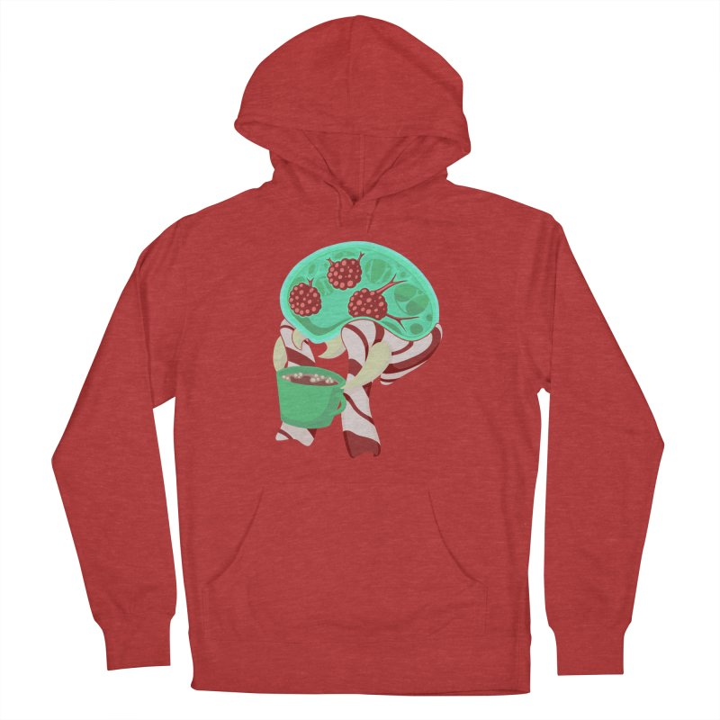 Feeling Festive Men's French Terry Pullover Hoody by Creaturista's Fine Goods