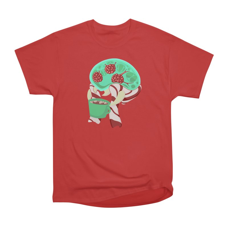 Feeling Festive Men's Heavyweight T-Shirt by Creaturista's Fine Goods