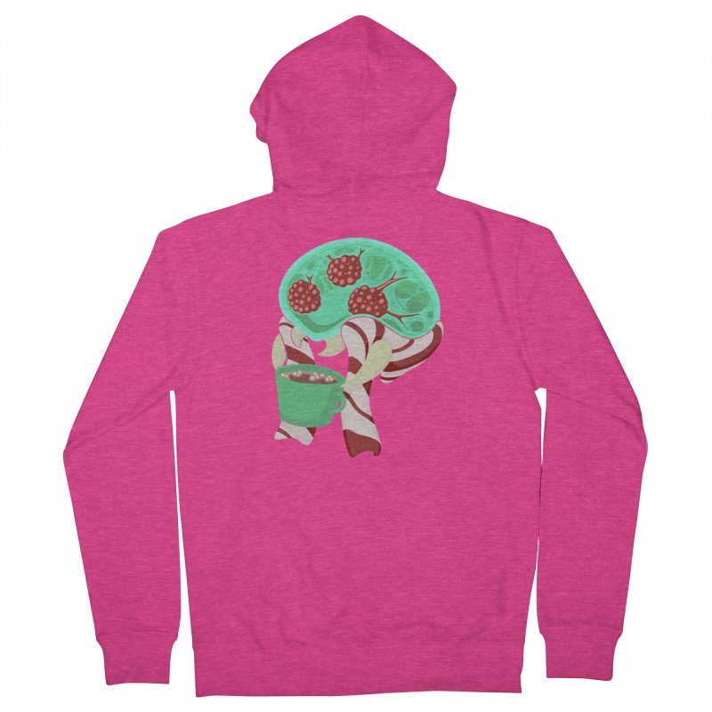 Feeling Festive Women's French Terry Zip-Up Hoody by Creaturista's Fine Goods