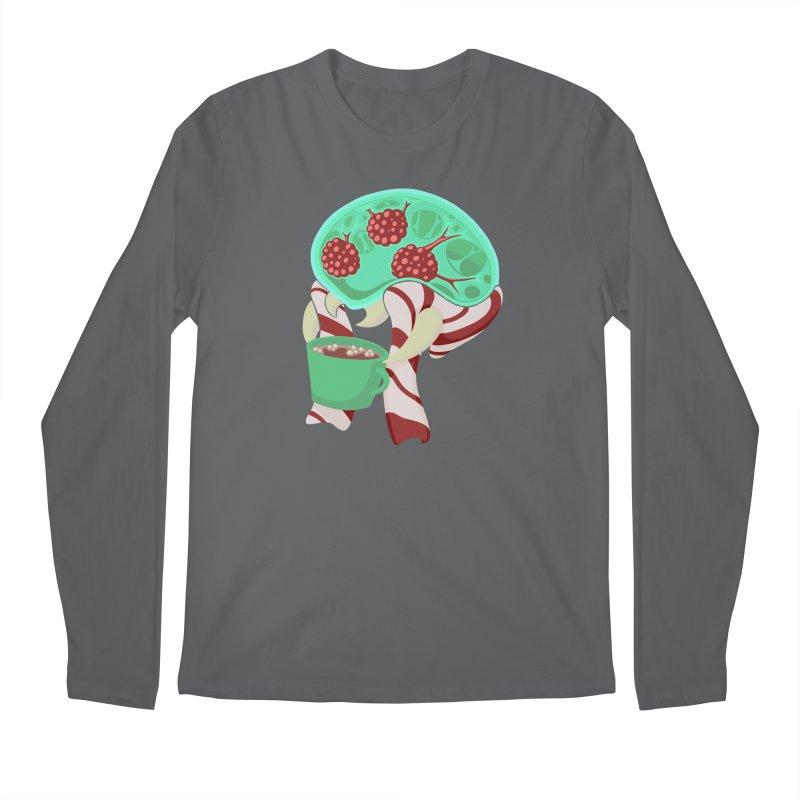 Feeling Festive Men's Regular Longsleeve T-Shirt by Creaturista's Fine Goods