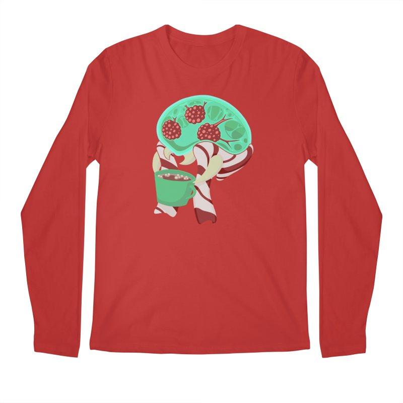 Feeling Festive Men's Regular Longsleeve T-Shirt by Creaturista's Fine Goods