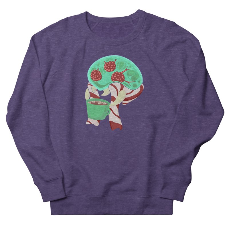 Feeling Festive Men's French Terry Sweatshirt by Creaturista's Fine Goods