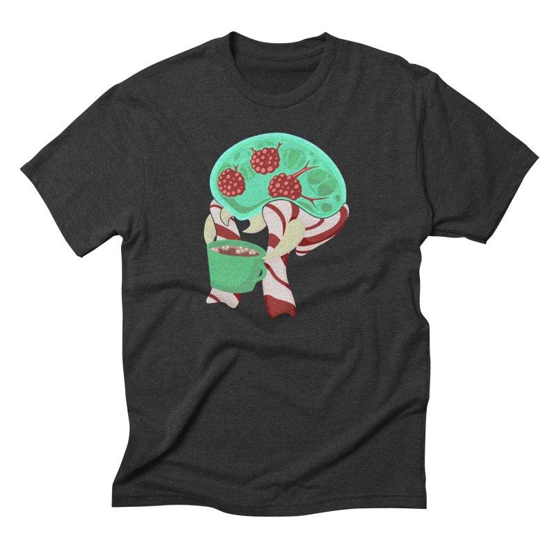 Feeling Festive Men's Triblend T-Shirt by Creaturista's Fine Goods