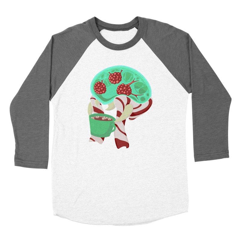 Feeling Festive Women's Baseball Triblend Longsleeve T-Shirt by Creaturista's Fine Goods