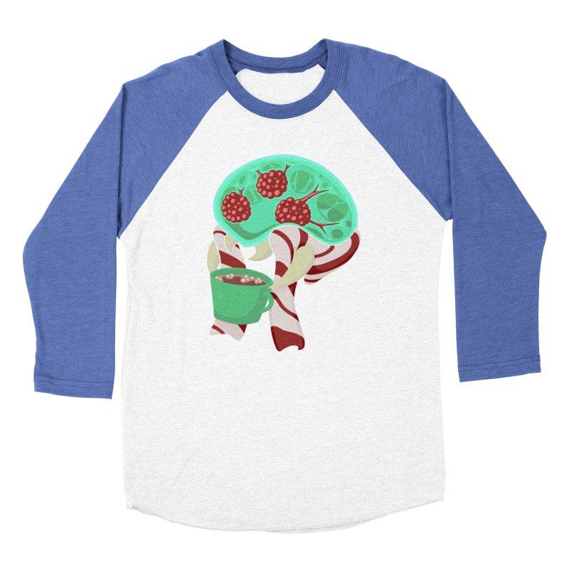 Feeling Festive Men's Baseball Triblend Longsleeve T-Shirt by Creaturista's Fine Goods